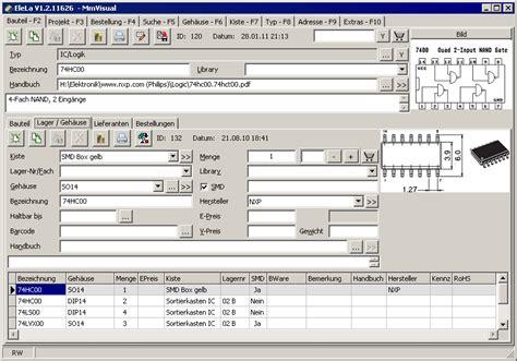 elela elektronik lagerverwaltung mikrocontrollernet