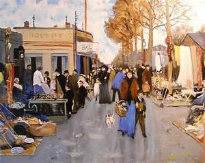 Marche Au Puce 70 : le marche au puces st ouen paris painting by joseph simone ~ Melissatoandfro.com Idées de Décoration