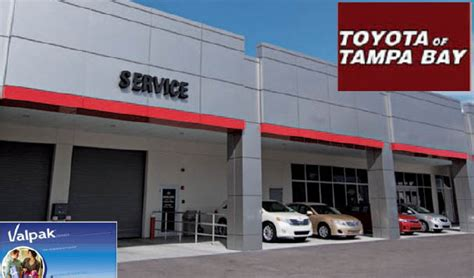 Toyota Of Tampa Bay In Tampa, Fl  Local Coupons October