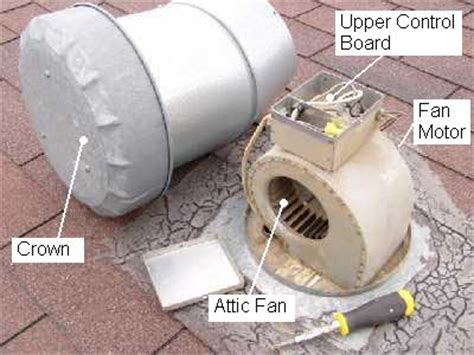 mobile home attic exhaust fan attic fan motor