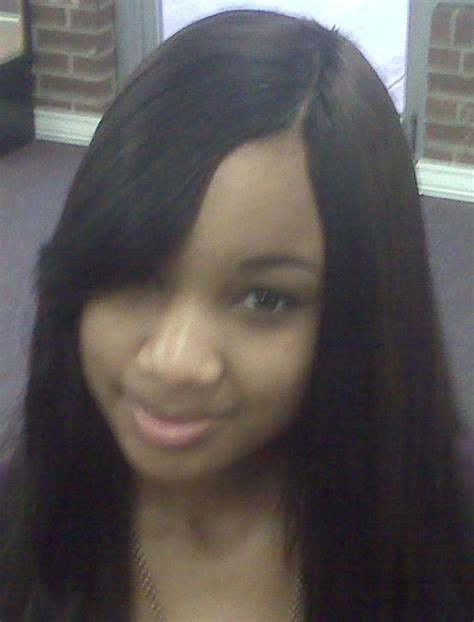 no glue invisible part sew in weave hairstylegalleries com