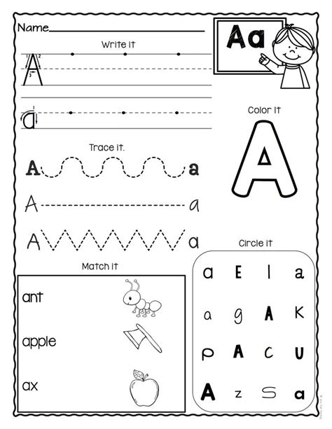 a z letter worksheets 3 educational finds and