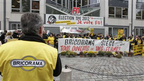 siege bricorama travail dominical les salariés s 39 opposent aux syndicats