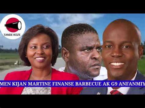 Por las graves heridas sufridas en el magnicidio del presidente jovanel moise. Novèl Chòk Men kijan Martine Moïse finanse G9 AN FANMIY Ak Barbecue - YouTube