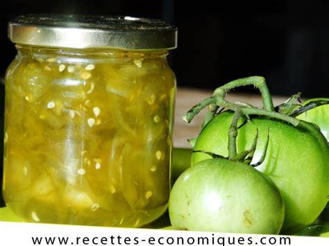 cuisiner tomates vertes confiture de tomates vertes au thermomix recettes de