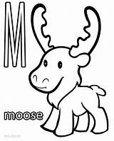 Moose Coloring Pages Printable Elk Template Cool2bkids Drawing Sketch Getcoloringpages Results sketch template