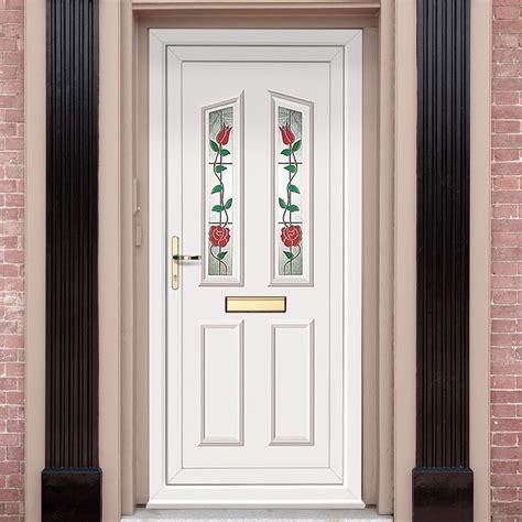 exterior upvc kishorn  climbing rose door