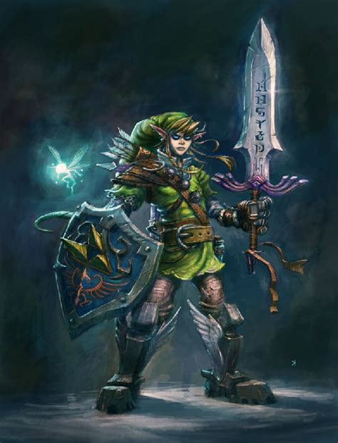 Zelda Artwork Gamesart
