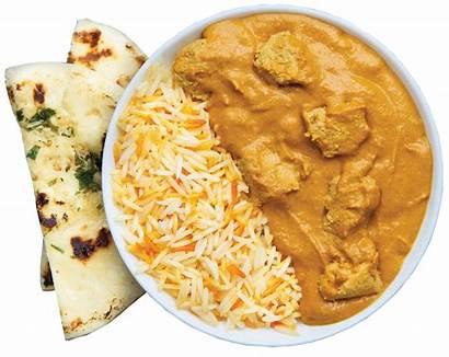 Chicken Naan Masala Tikka Garlic Butter Rice