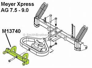 Xpress Rear Push Frame 13740 For Meyer Ag 7 5