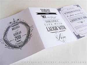 luxury vintage wedding stationery tags and gifts by With 3 fold wedding invitation templates