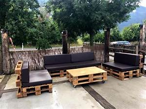 Diy pallet outdoor sofa ideas 99 pallets for Building a pallet sectional sofa