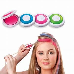 2pcs 4 Colors DIY Dye Hair Powder Temporary Hair Chalk