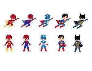 Cute Superhero Cartoon Drawings