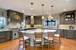 Driftwood, With, Glaze, Large, Kitchen, Point, Pleasant, New, Jersey, By, Design, Line, Kitchens