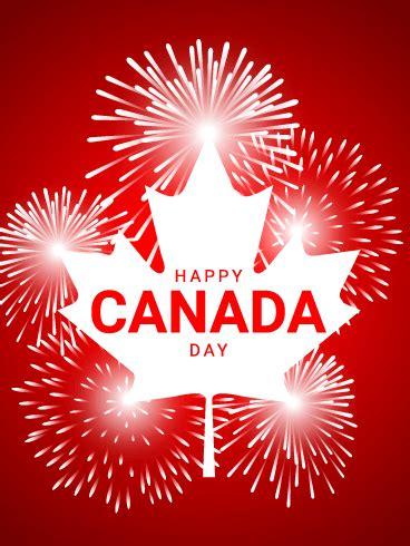 Happy Canada Day Card Birthday Greeting Cards Davia
