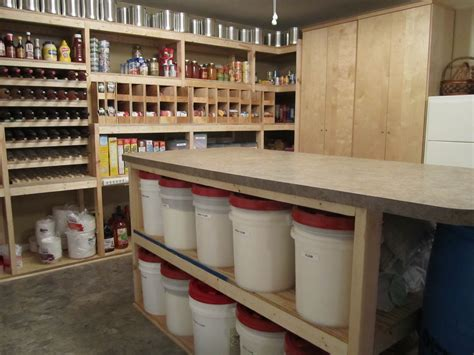 Basement Pantry Ideas Walk In Basement Pantry This Is My Setup Food