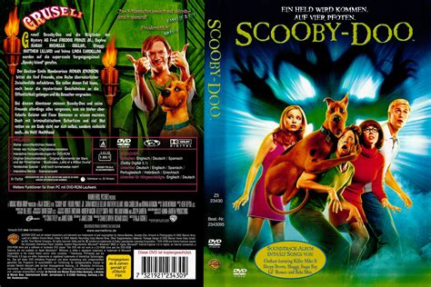 Scooby Doo Movie DVD Cover