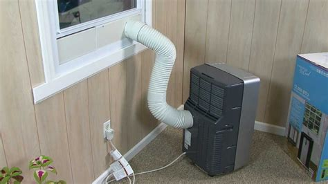 haier portable air conditioner installation video youtube