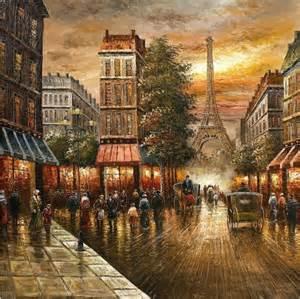 Wayfair Bathroom Vanity Mirror by Paris Nights Impressionist Cityscape Oil Pain