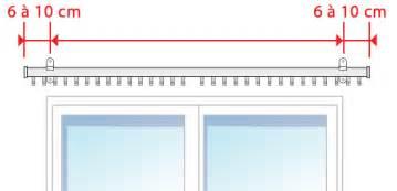 Pose Tringle A Rideau Au Plafond by Comment Poser Votre Tringle 224 Rideaux D 233 Corative