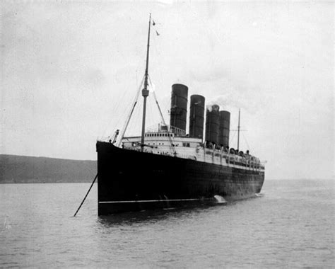 rms lusitania sinking incredible new undersea images