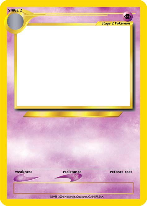 Pokemon Tcg Blanks Neo Jumbo Stage 2 By Icycatelf