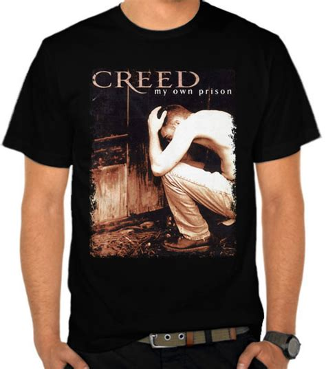 jual kaos creed band my own prison creed satubaju