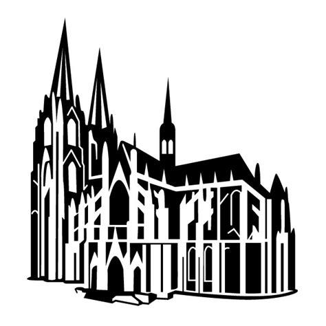 koelner dom cathedral wandtattoo