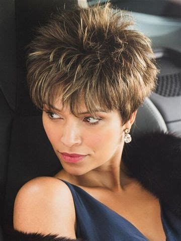 voluminous spiky cut short hairstyles