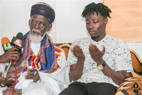 FANCY GADAM PAYS COURTESY CALL ON CHIEF IMAM - Nkonkonsa