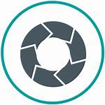 Circle Icon Service Cycle