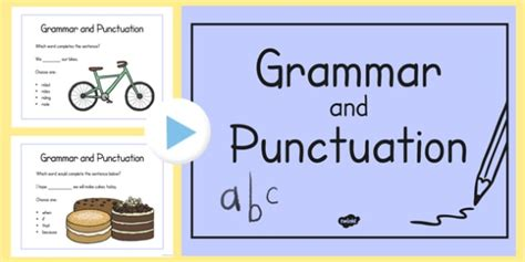 Year 2 Grammar And Punctuation Challenge Powerpoint  Year 2, Grammar
