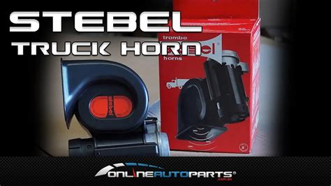 Stebel Compact Truck Horn. Air Horn Loud, Car, Motorbike