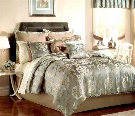 pem america raleigh  piece queen comforter set jacquard