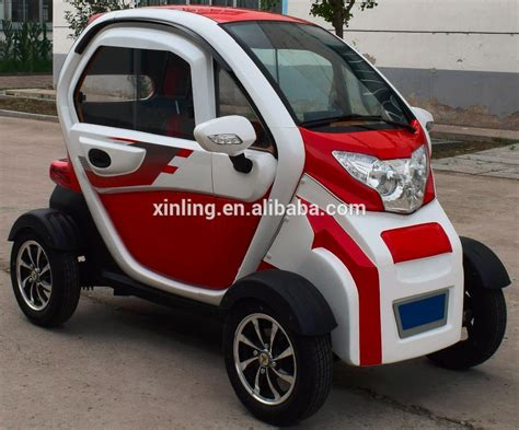 3 Wheel 2 Seat Car by 60v 1 0kw 2 Seat Small Cars Cheap Electric Cars Four Wheel