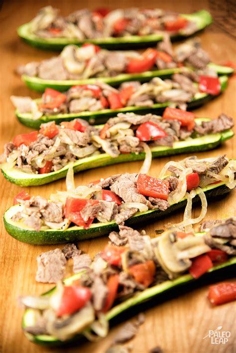Zucchini Boats Paleo by Steak Zucchini Boats Paleo Leap