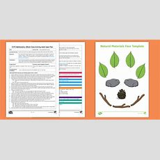 * New * Eyfs Maths Natural Materials Counting Whole Class