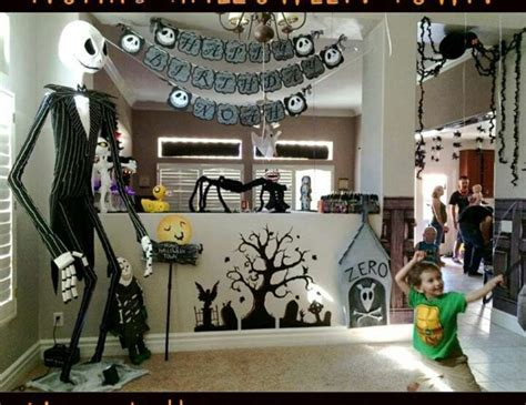 Nightmare Before Decorations by Nightmare Before Birthday Quot Noah S 5th Birthday