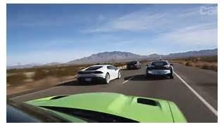 Mustang GT vs  BMW i8 vs  Lamborghini Huracan vs  Hellcat Challenger  Lamborghini Vs Bmw