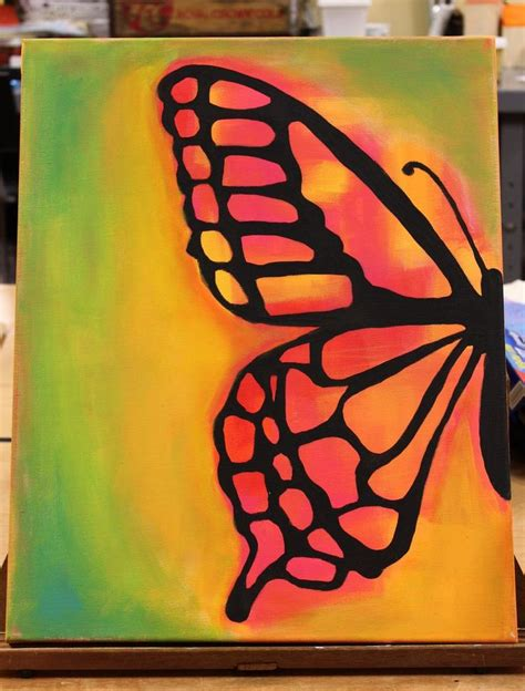 25+ Best Ideas About Wine And Canvas On Pinterest  Sunset Painting Easy, Easy Pictures To Paint