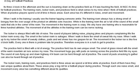 My favourite sport event essay