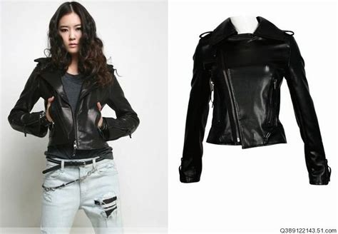 [free Shipping] Wholesale&retail, Leather Jacket Women