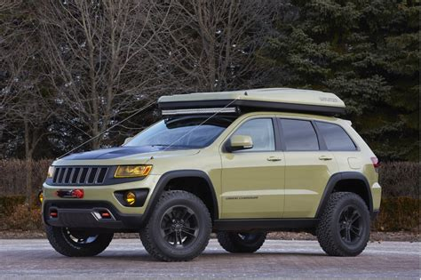 chief jeep concept awesome jeep chief concept leads six others to moab easter
