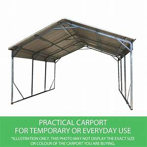 Carport 3 X 4 : vehicle shelter 3 6 x x steel carport wholesales direct ~ Whattoseeinmadrid.com Haus und Dekorationen