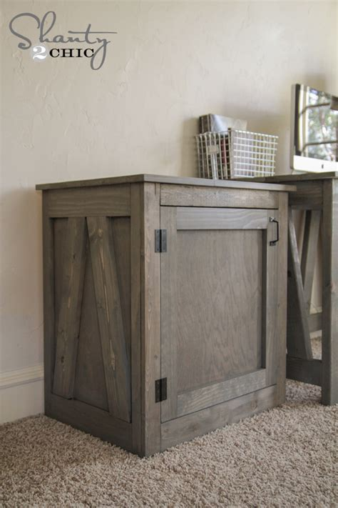 woodworking plans diy desk  nightstand