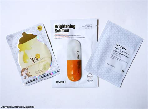 best korean sheet mask my top 3 korean brightening sheet masks glitterball magazine
