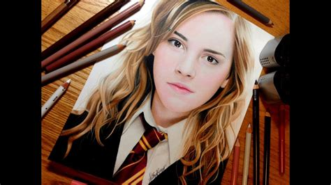 drawing hermione granger youtube