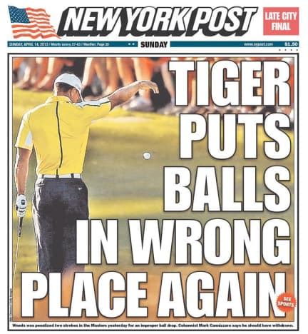 Thomas Vonn on Tiger Woods: Gotta Watch Out For Those ...