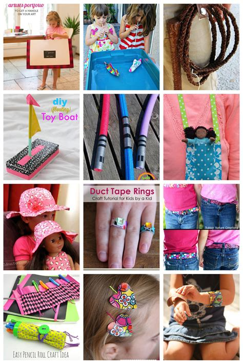 duct tape crafts  kids  love